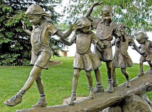Le Sculpture Garden Benson dans le Colorado.