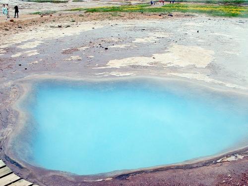 Chaleur naturelle en Islande .