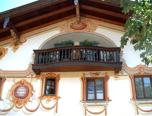 L'église de Oberammergau
