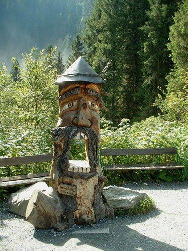Les cascades de Krimml au Tyrol