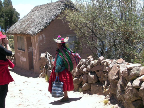 Réaliser un rêve : aller sur le lac Titicaca.