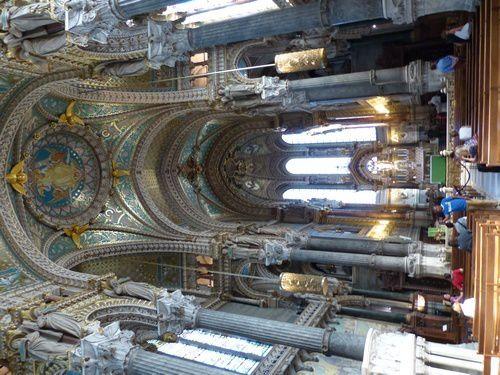 La basilique ND de Fourvière  ( 2 )