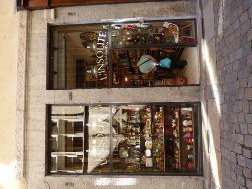 Les vieux commerces de Lyon.
