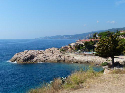 L'hôtel Eden Roc sur la Costa brava espagnole.