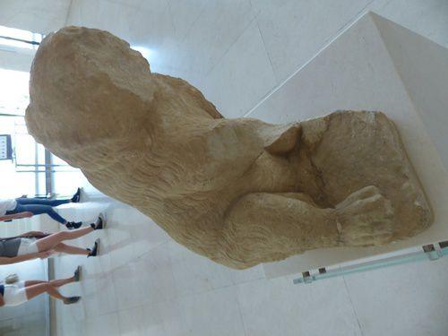 Le musée de L'Acropole à Athènes.
