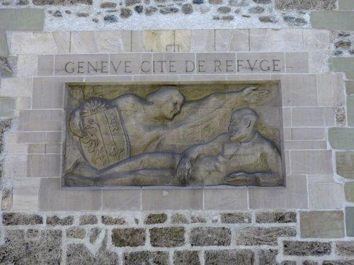 Quelques monuments de Genève.