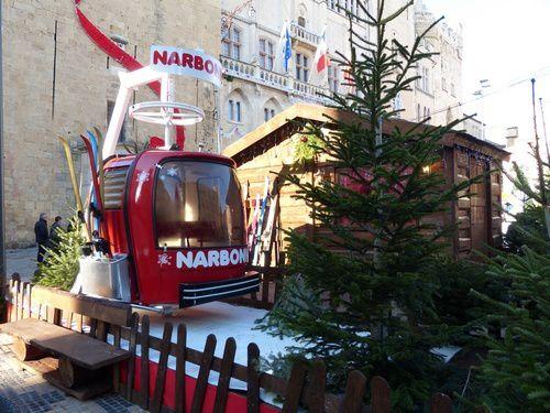 Décorations de Noël à Narbonne