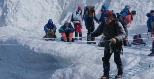 A la conquête du plus haut sommet du monde.