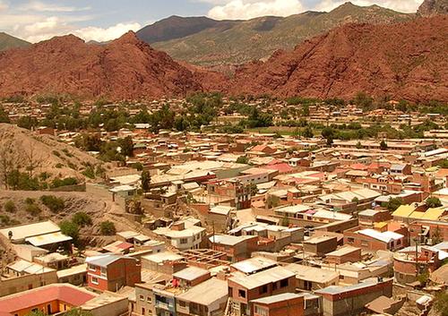A travers la Bolivie .