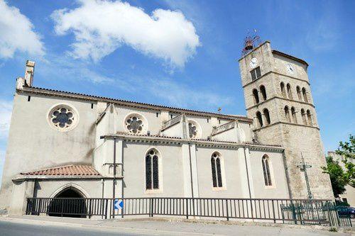 L'église fortifiée de Coursan