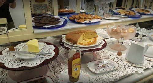 Pâtisseries, biscuits et pancakes.