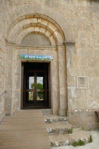 A l'intérieur du sanctuaire de la Mère de Dieu