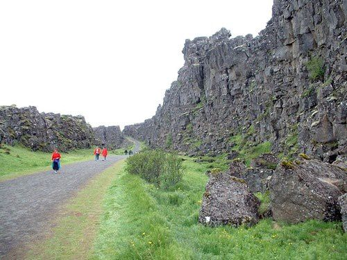 Premier contact avec l'Islande