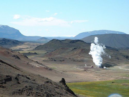 Du lac Myvatn au volcan Krafla.