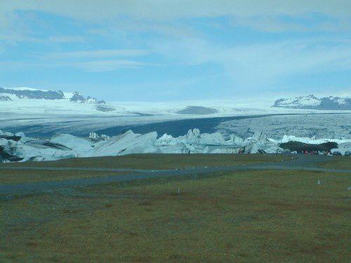 Croisière au milieu des icebergs.