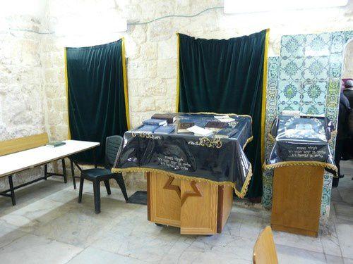 Jérusalem : la tombe de David et l'abbaye de la Dormition.