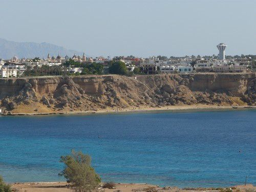 Je me suis arrêtée à Sharm El Sheikk
