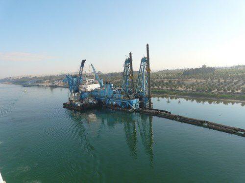 Deux jours sur le canal de Suez !  ( 1 )