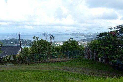 Escale à Castries, la capitale de l'île de Ste Lucie.