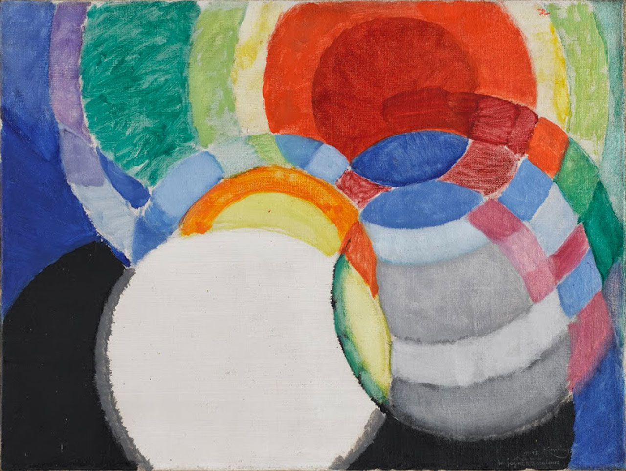 Abstraction, Frantisek Kupka-Disques,1911-1912