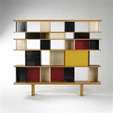 charlotte perriand sonia delaunay bookcase from the maison du mexique 1952 blog des histoire. Black Bedroom Furniture Sets. Home Design Ideas