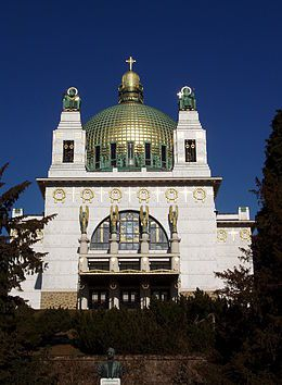 Otto Wagner, l'église st Léopold
