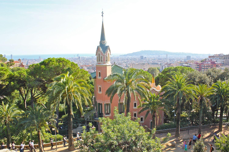 Villa Gaudi dans son environnement