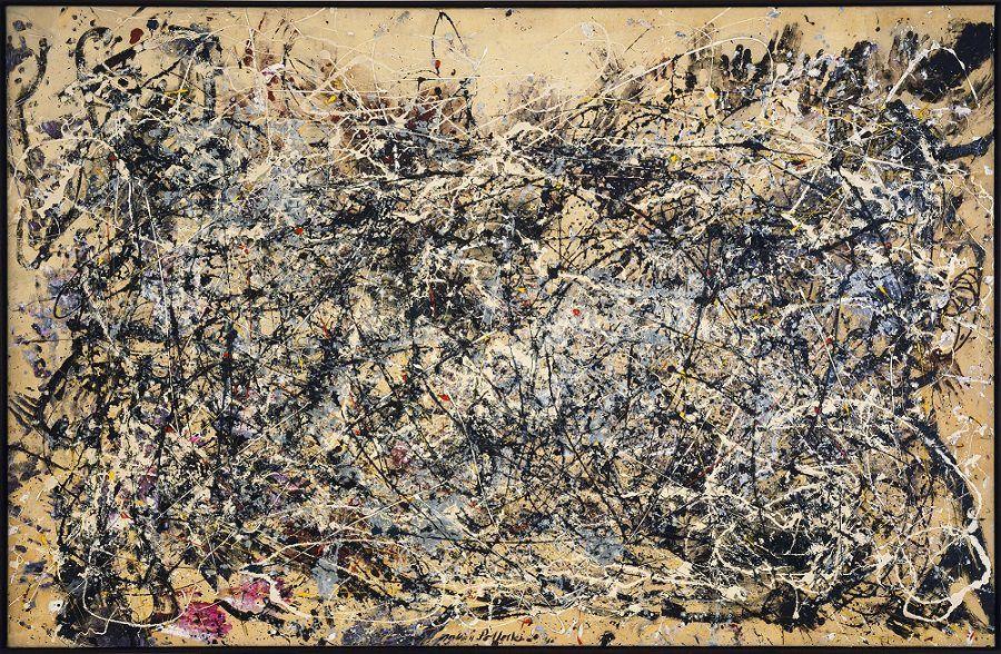"""Tableau """"Number 1"""", Jackson Pollock, 1950"""