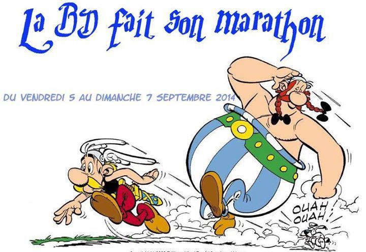 La BD fait son marathon avec Marjorie