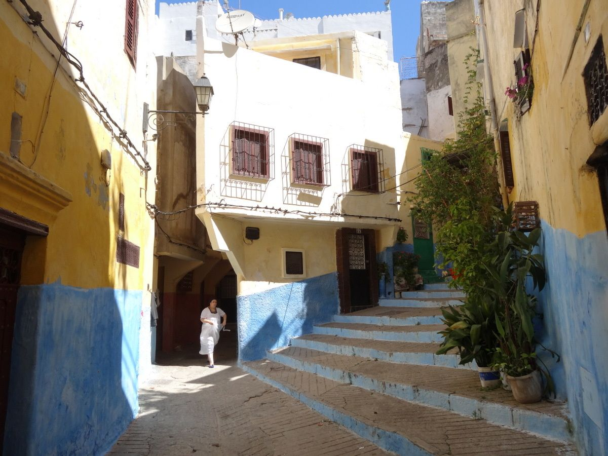 Couleurs de Tanger Medina