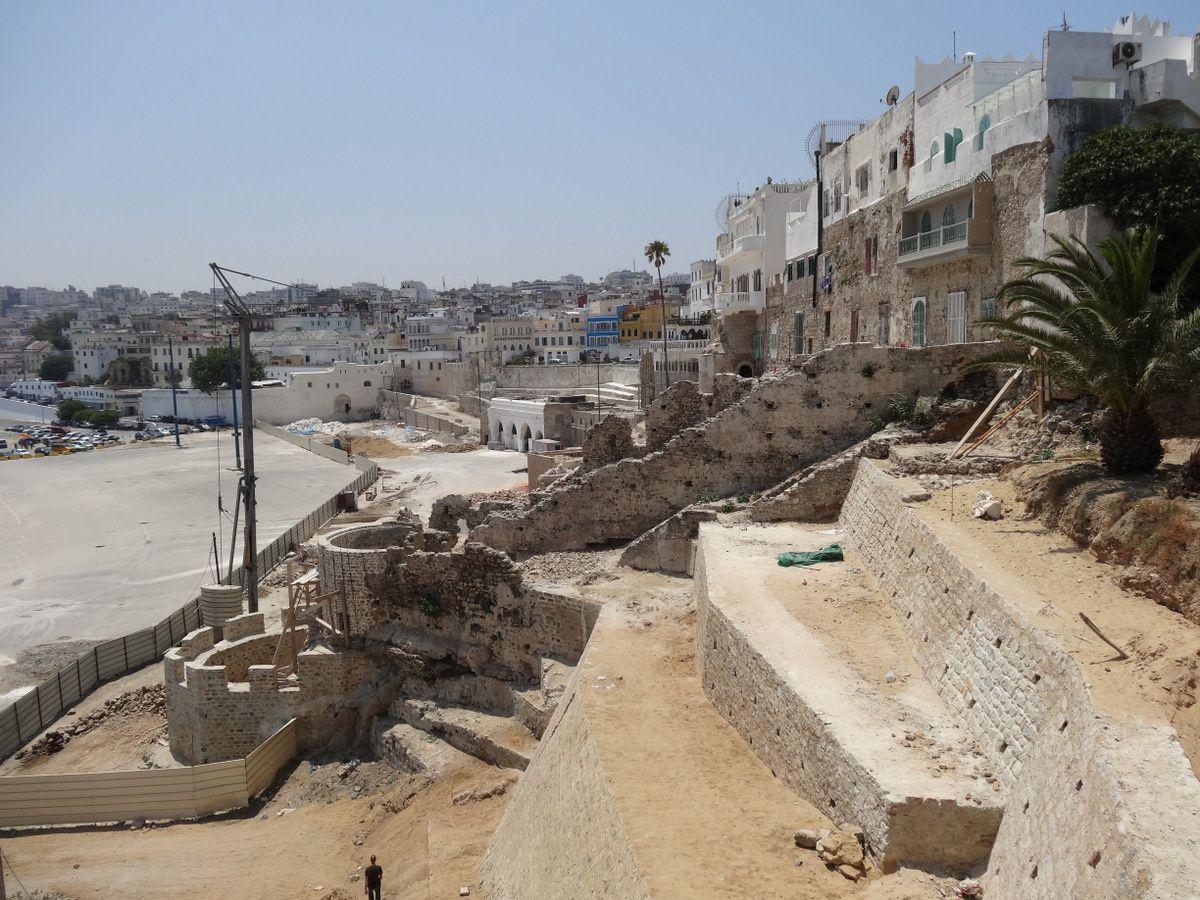 La réhabilitation de la la muraille de la Medina de Tanger