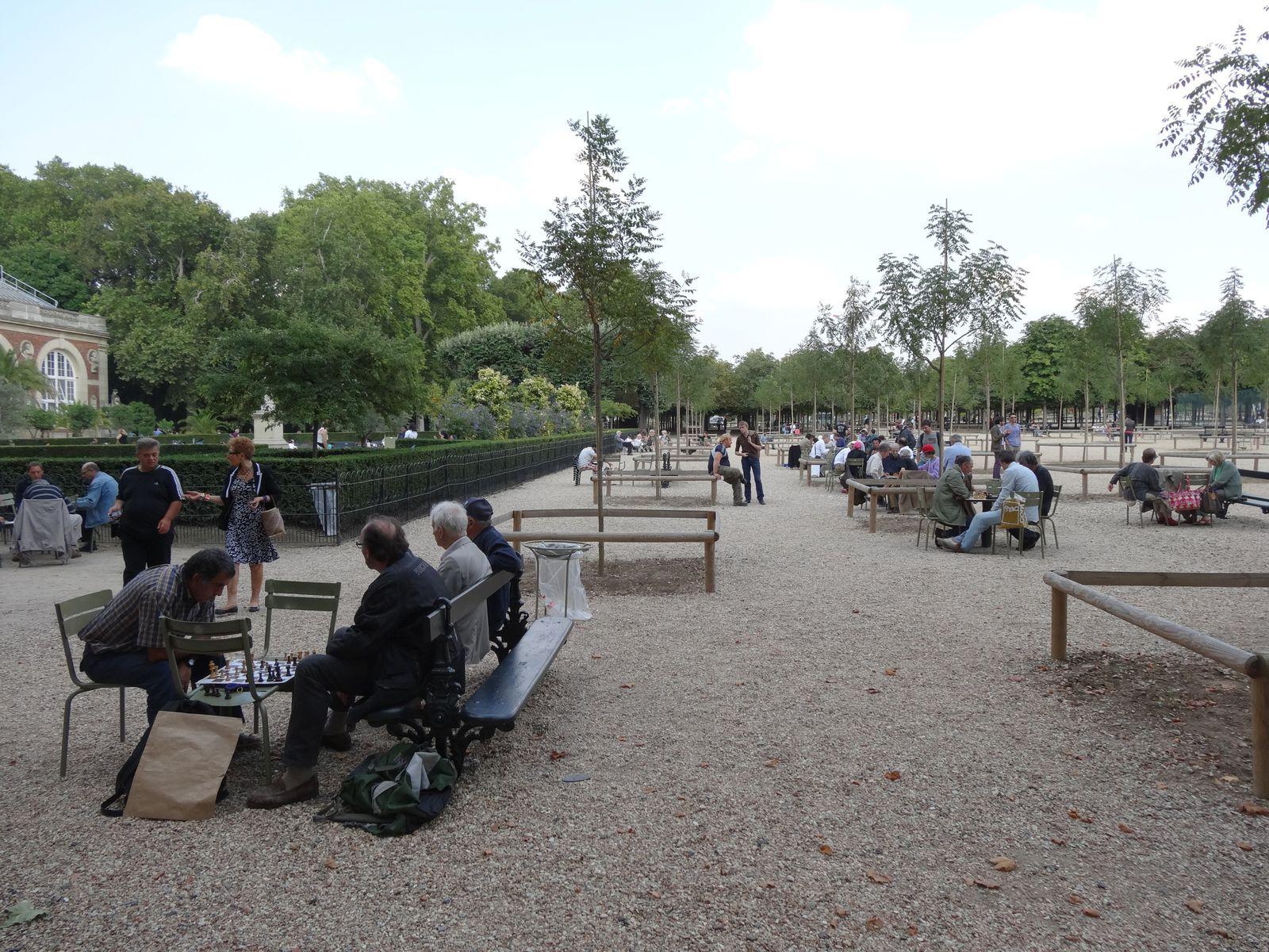 Les joueurs d'échecs du Luxembourg