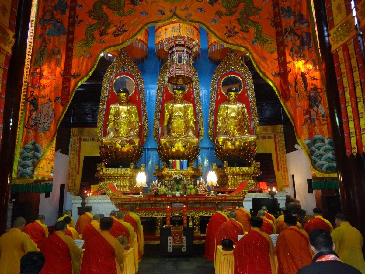 Temples à Jiuhua