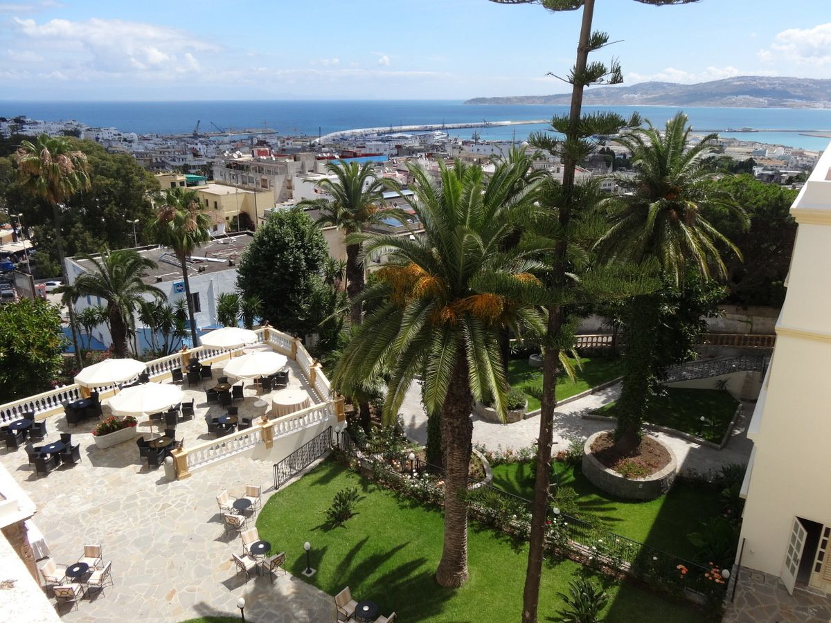 L'hôtel Villa de France et sa magnifique vue depuis la terrasse