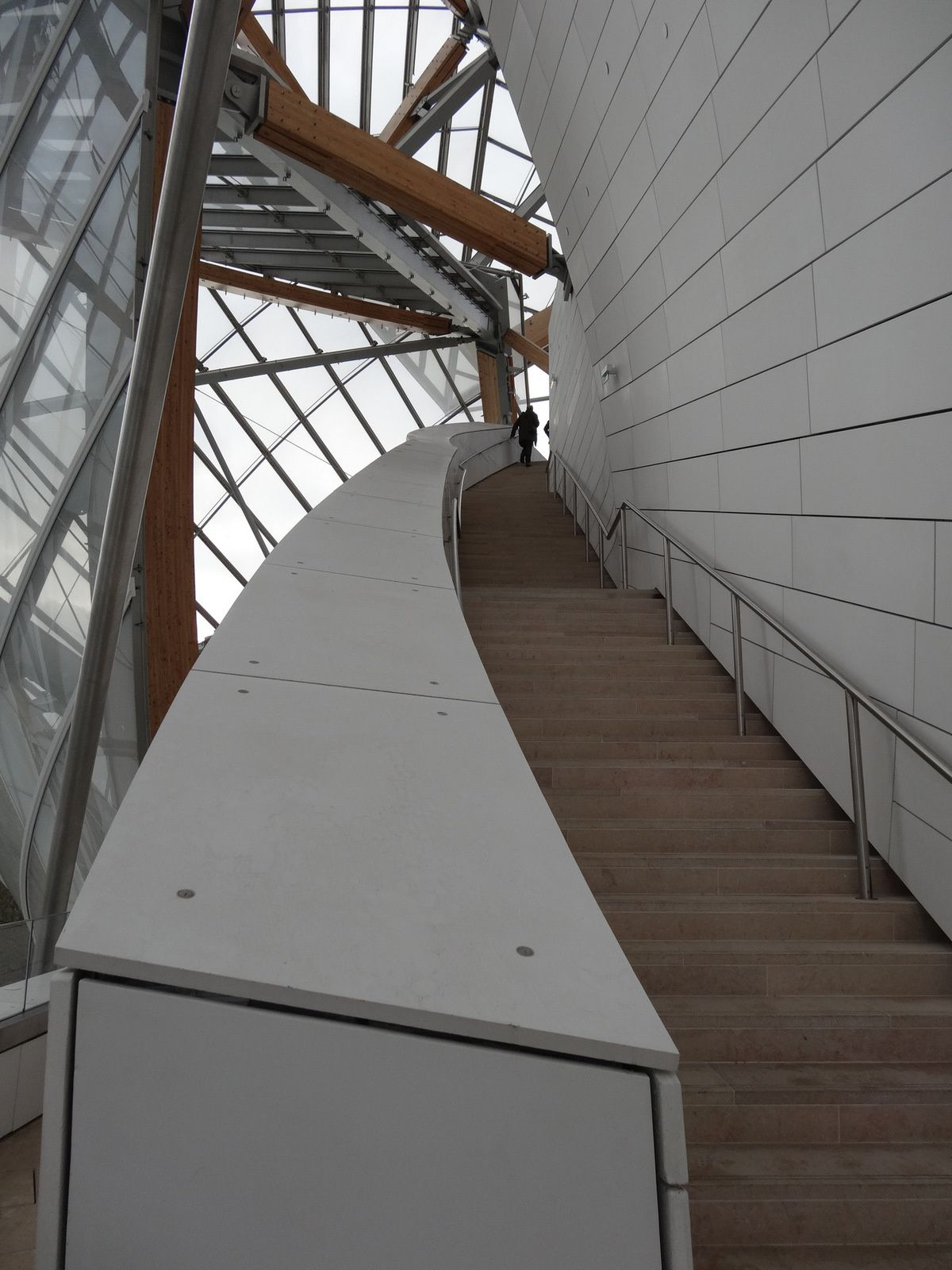 La Fondation VUITTON à Paris