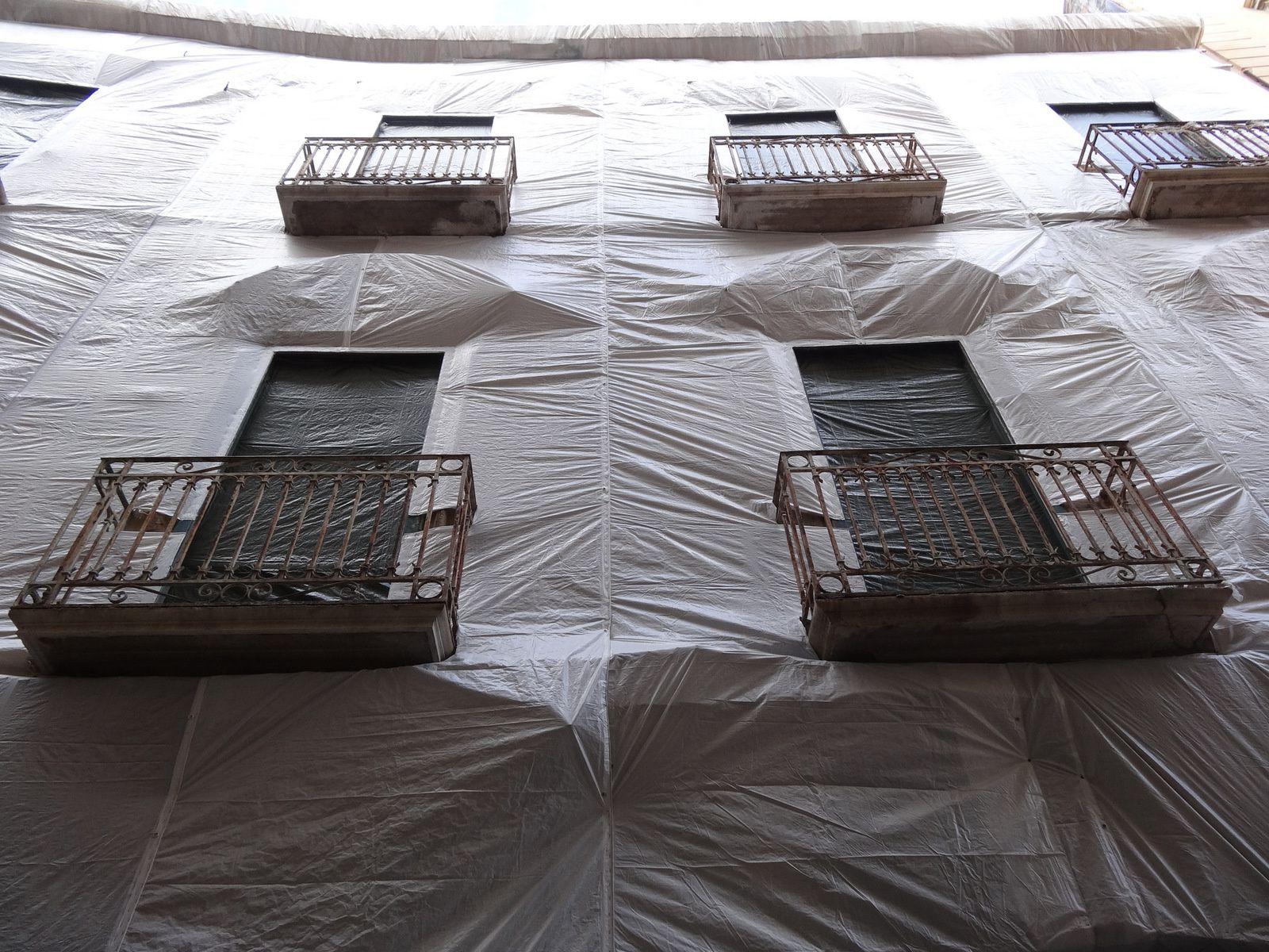 Palissades de chantier (Sicile)