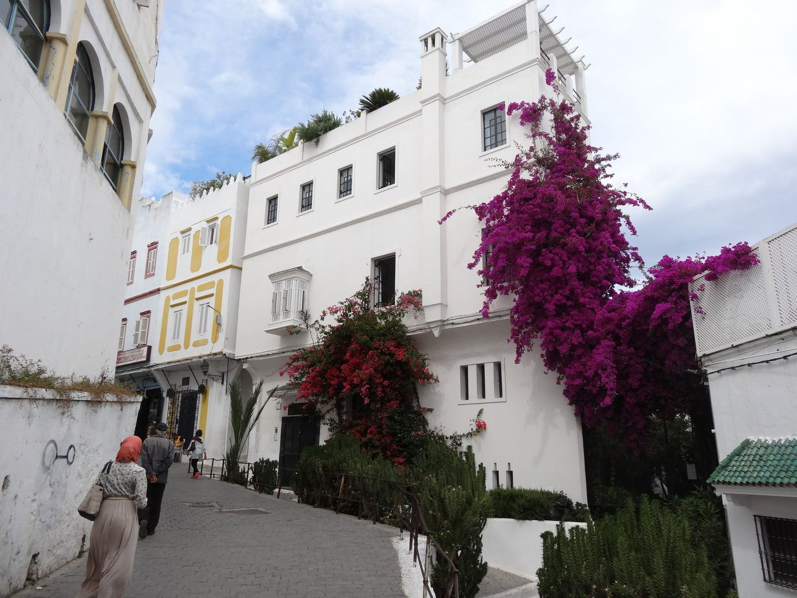 Barbara Hutton's mansion in Tangier, Morocco./Ph. DR