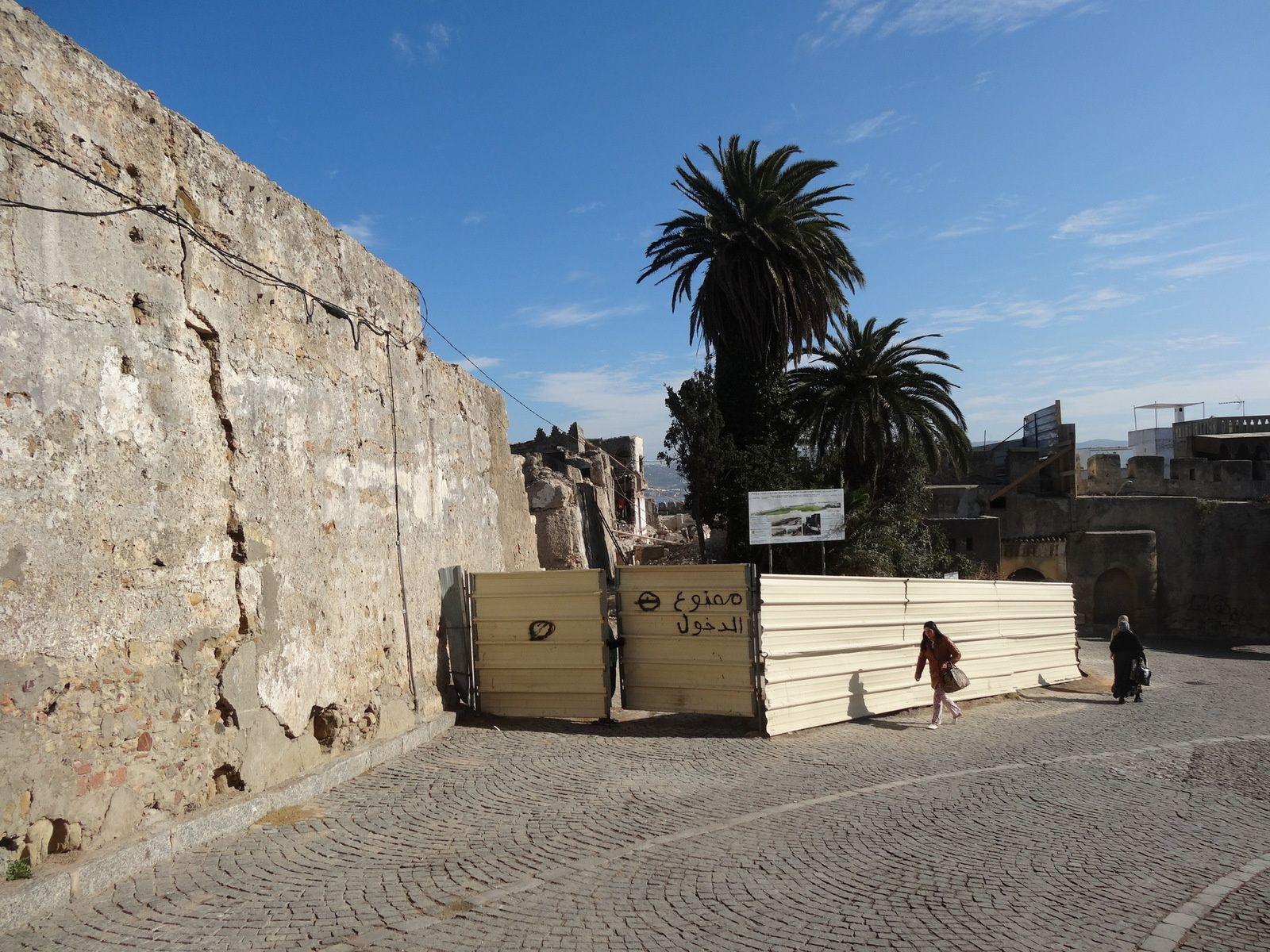 La restauration du Château d'York à Tanger (4 photos)