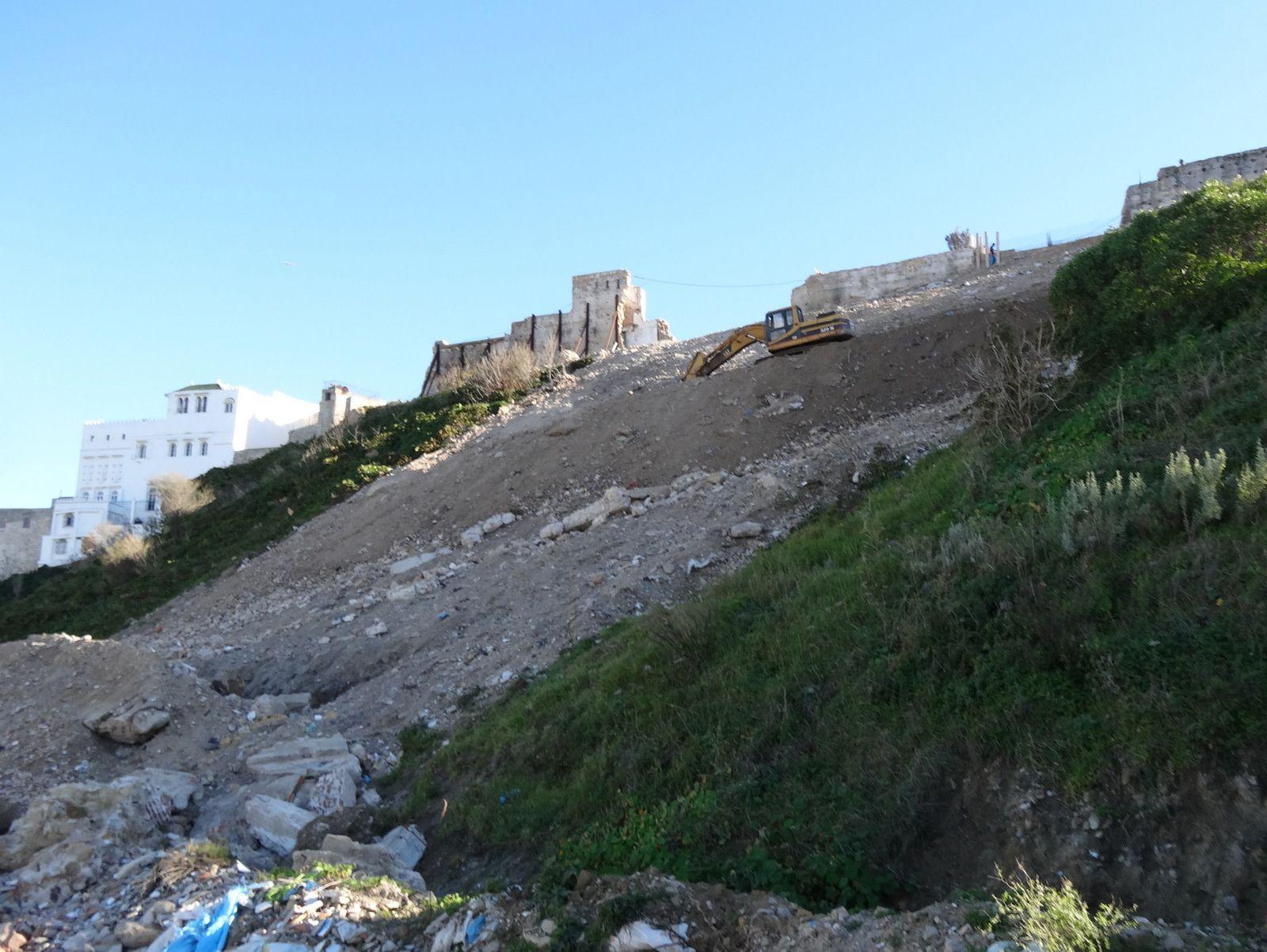 L'arrivée dans la Kasbah du projet de téléphérique de Tanger