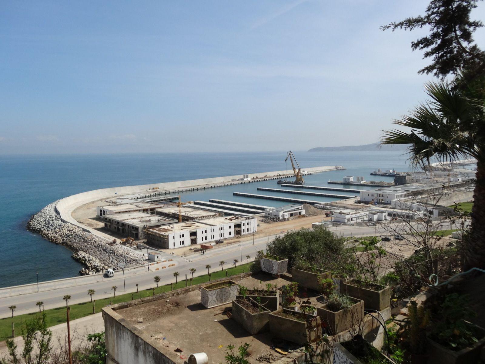 L'avancement du chantier du Port de Pêche (au 14 avril 2016)