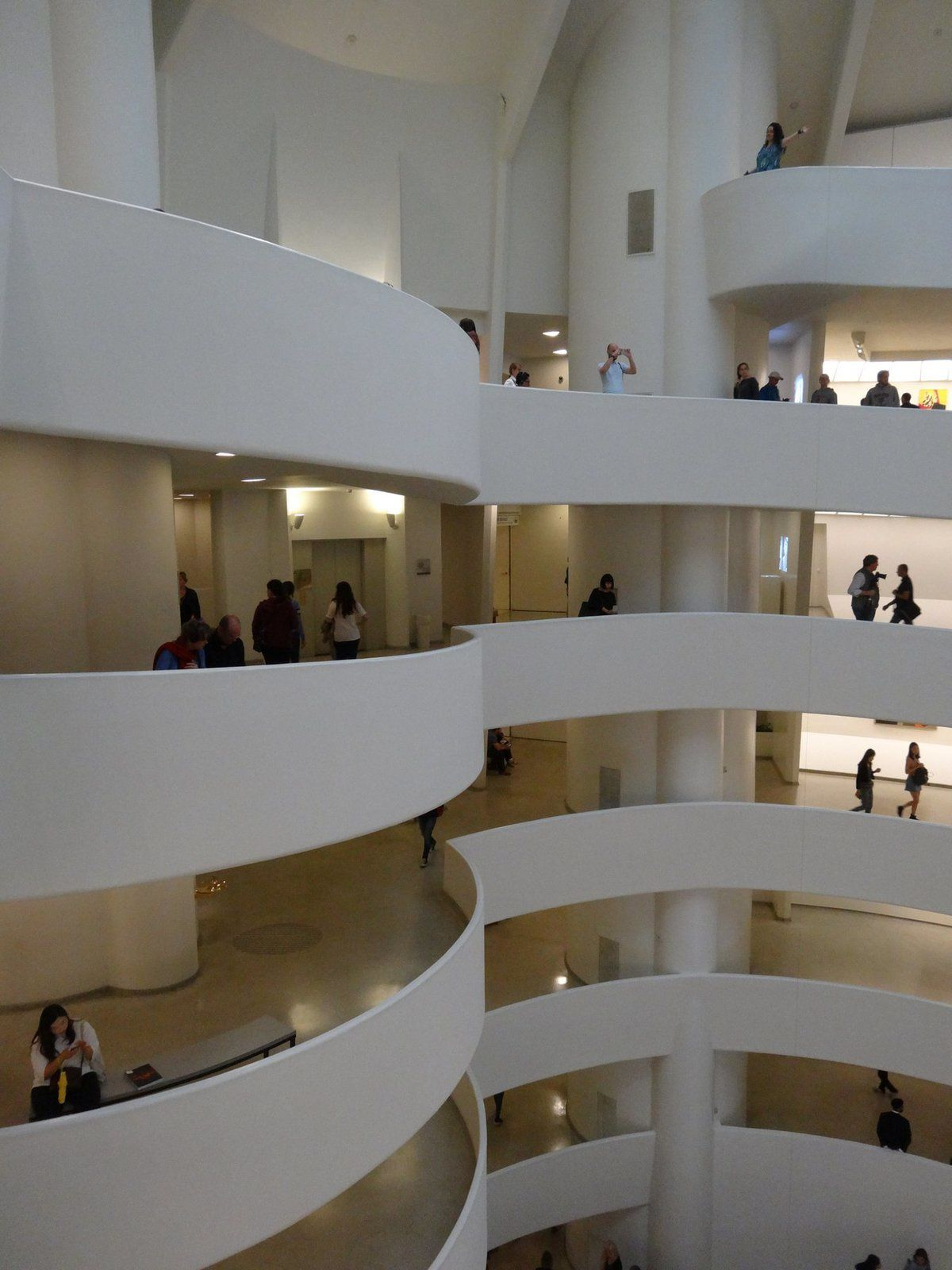 Le Guggenheim de New York (architecte Franck Lloyd Wright)