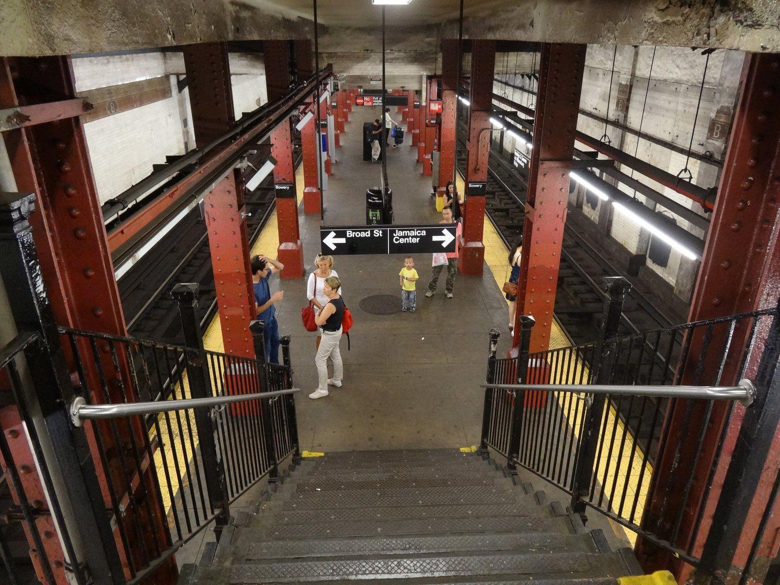 Le Métro de New York (6 photos)