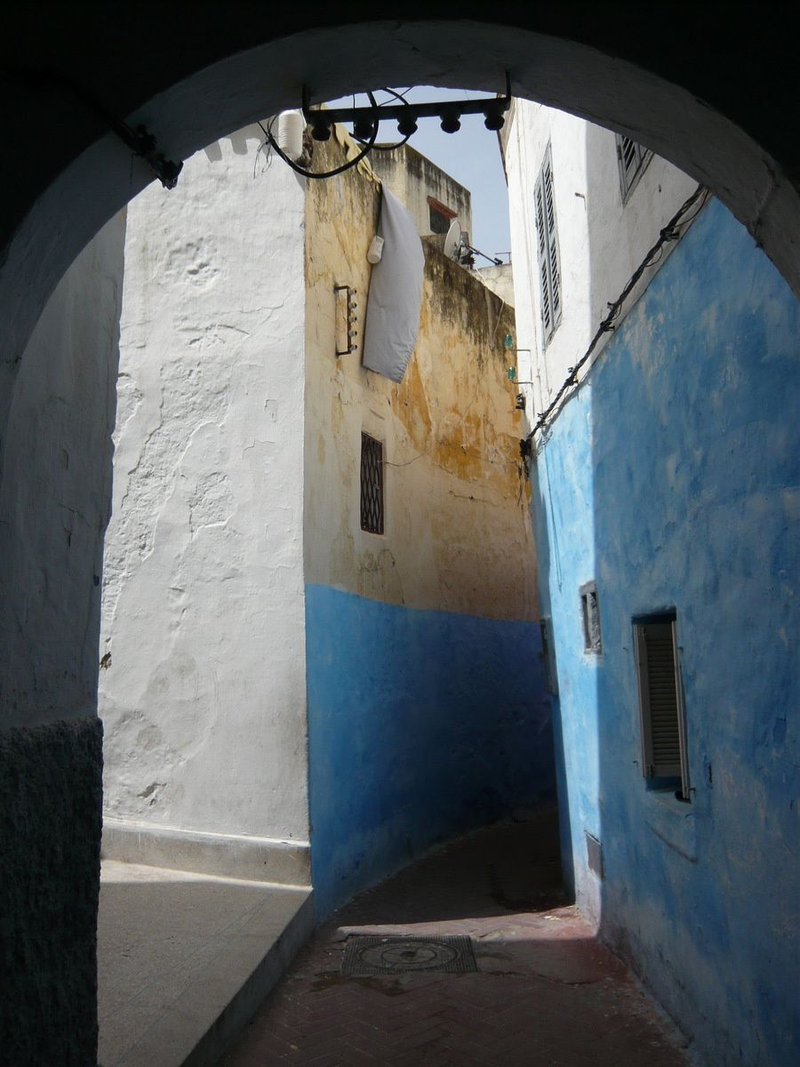 Des couleurs plein les yeux dans la Médina de Tanger ...