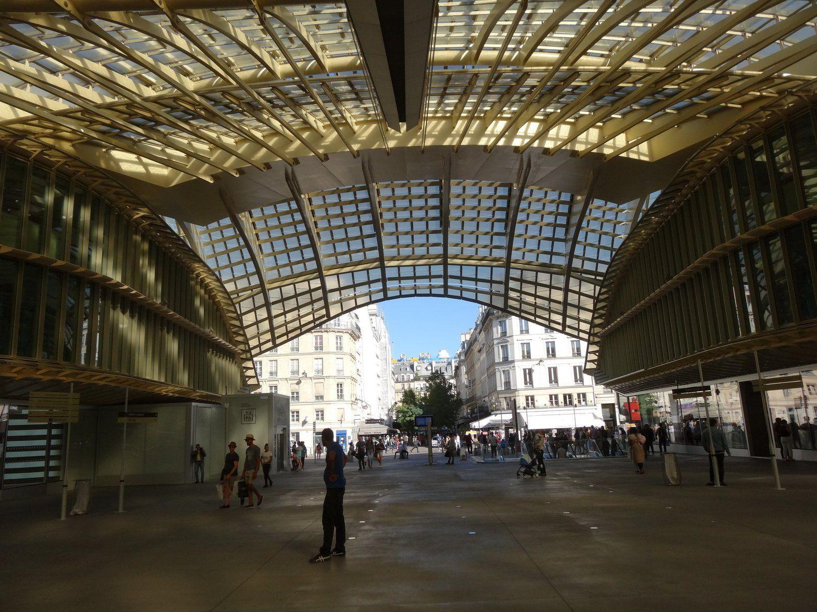 Les nouvelles Halles à Paris