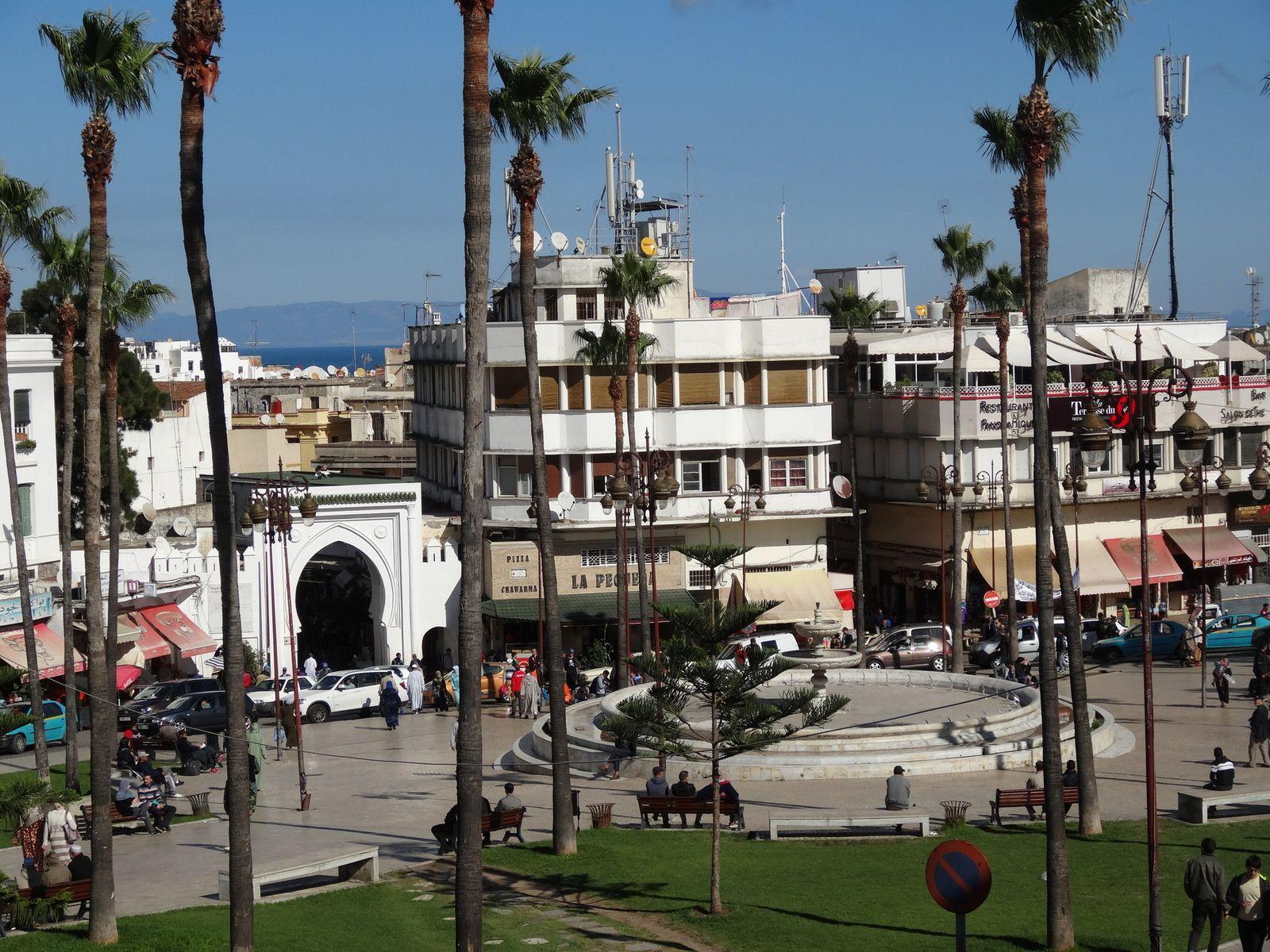 Dernières vues sur le Grand Socco à Tanger