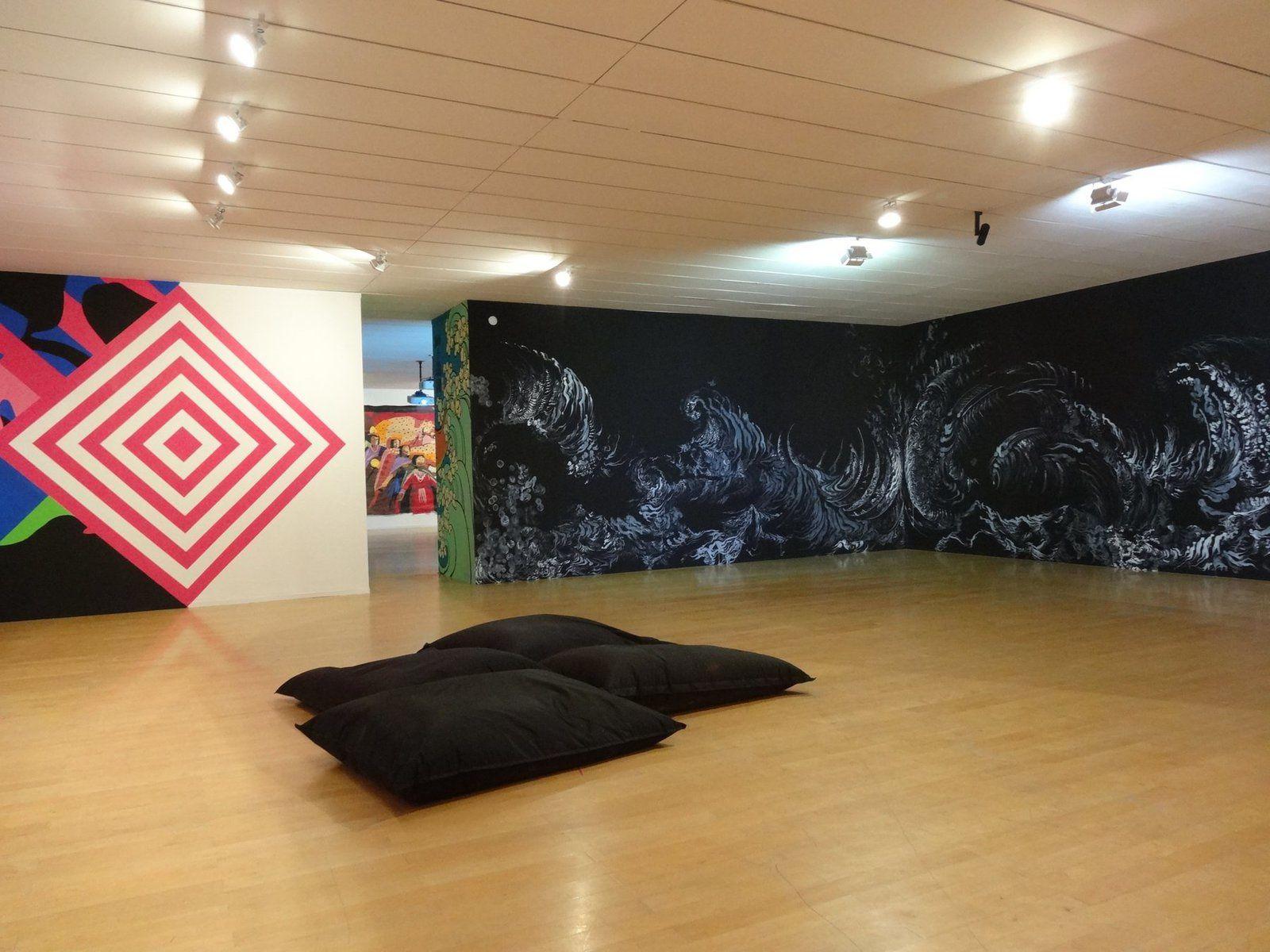 les autres artistes au MAC (Musée d'Art Contemporain) de Lyon