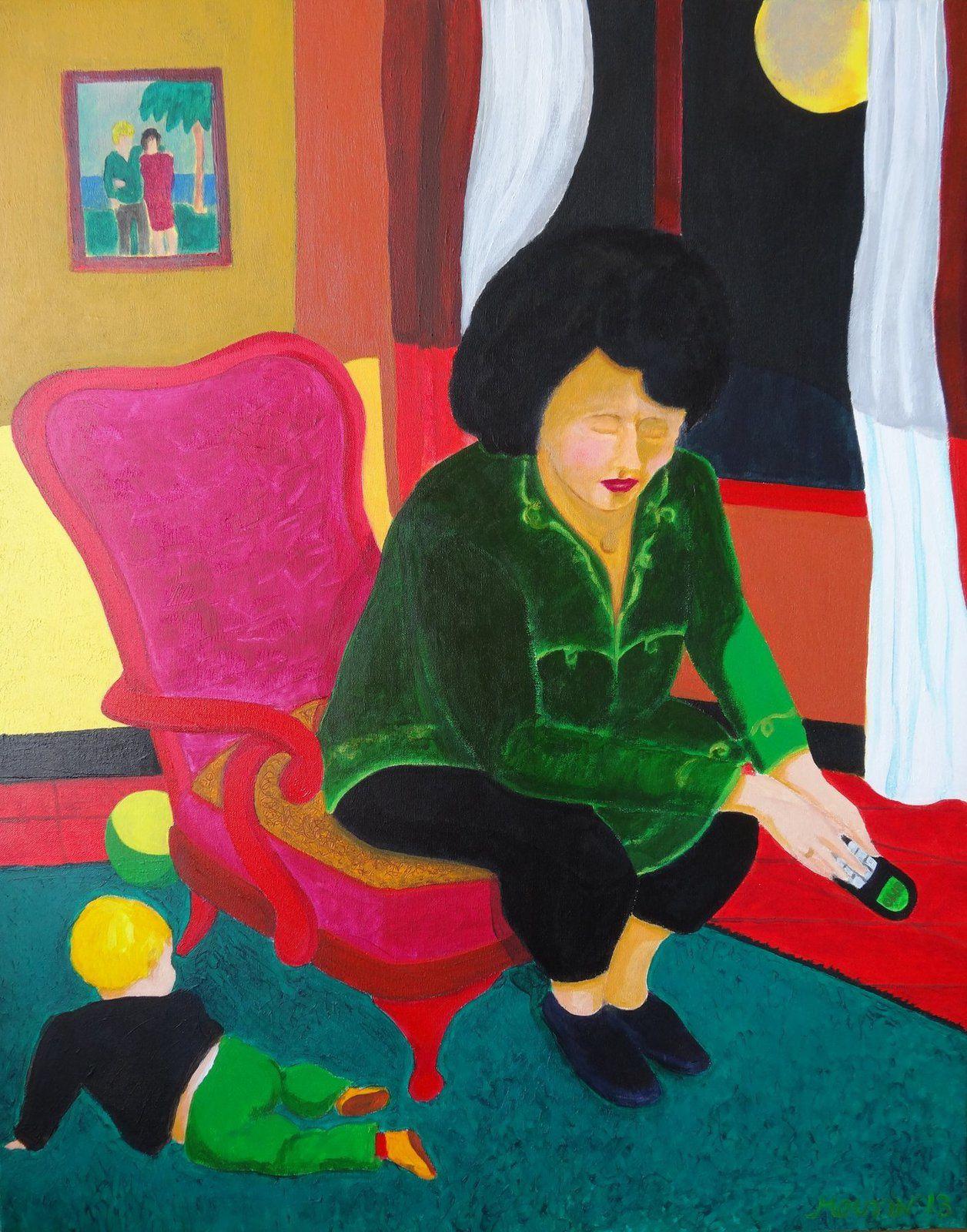 Les Temps modernes, les  24  toiles de l'exposition à l'Oeil écoute à Lyon du 2 au 17 février 2017