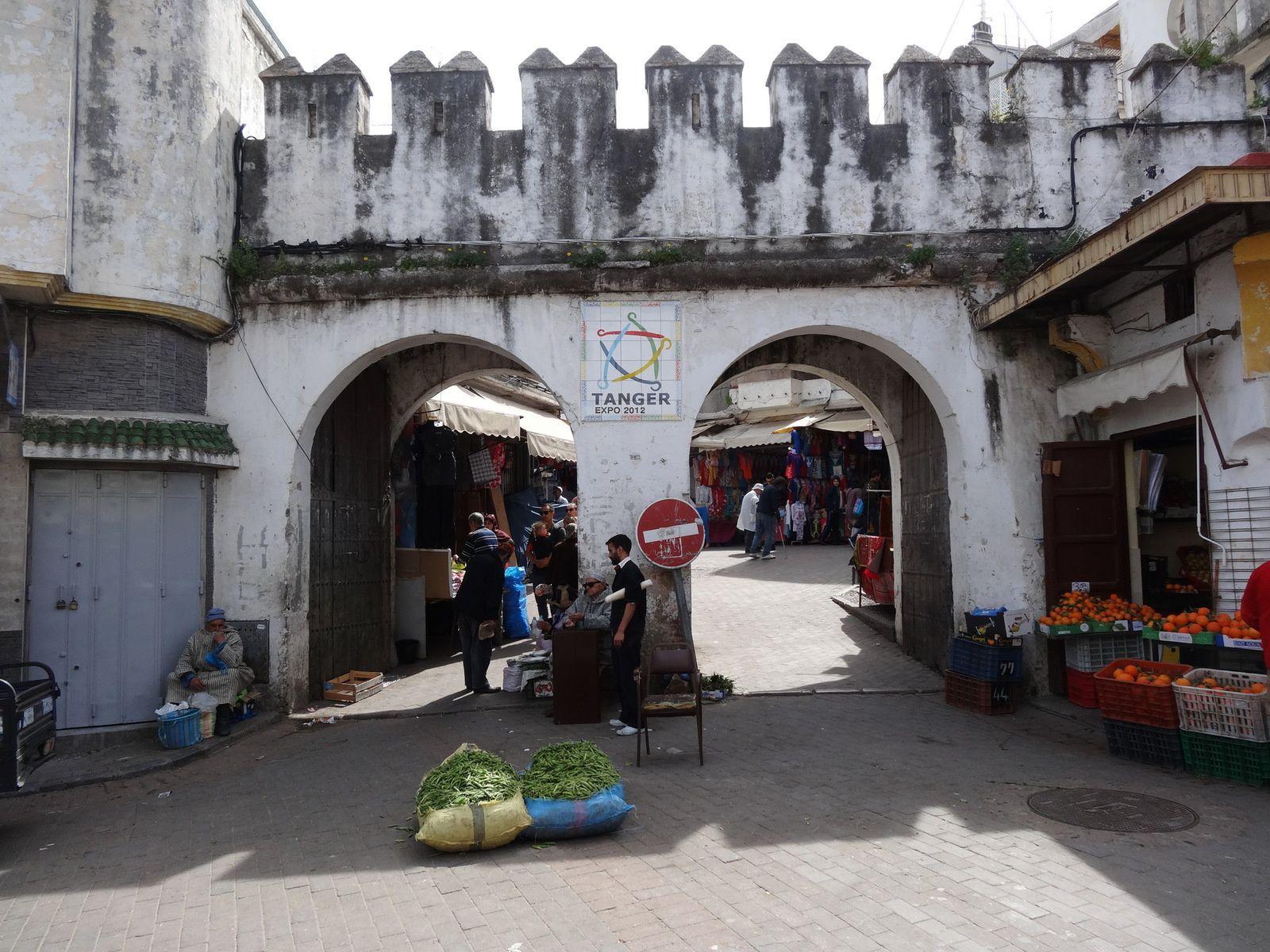 Une des portes d'entrées de la Médina de Tanger