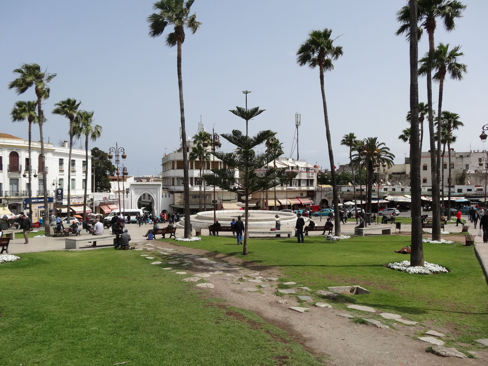 Le Grand Socco à Tanger (3 photos)