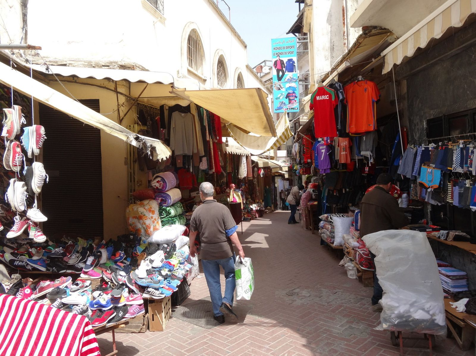 Ambiance de la Médina de Tanger